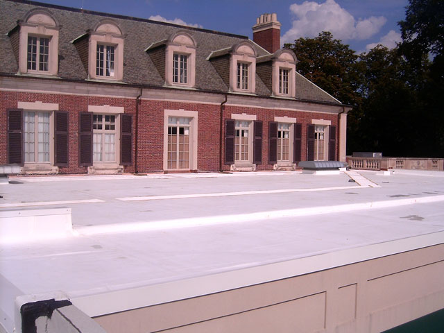 Overbrook Country Club TPO Membrane